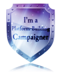 Platform badge author network