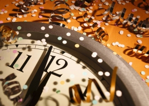 New Year Clock
