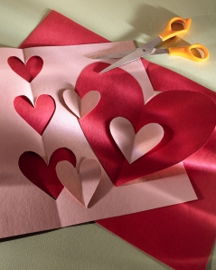 Scissors and Paper Hearts